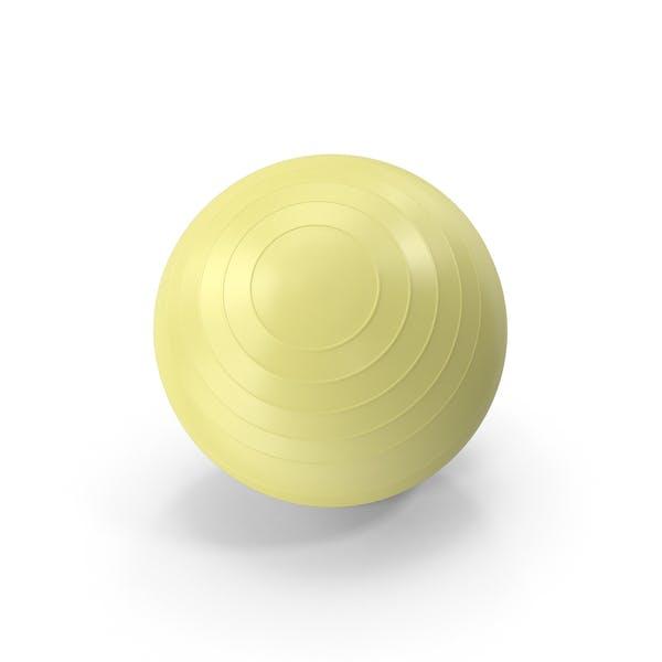 Thumbnail for Pilates Ball Yellow