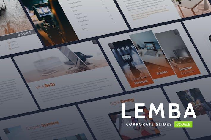 Lemba - Modern Bussines Google Slides