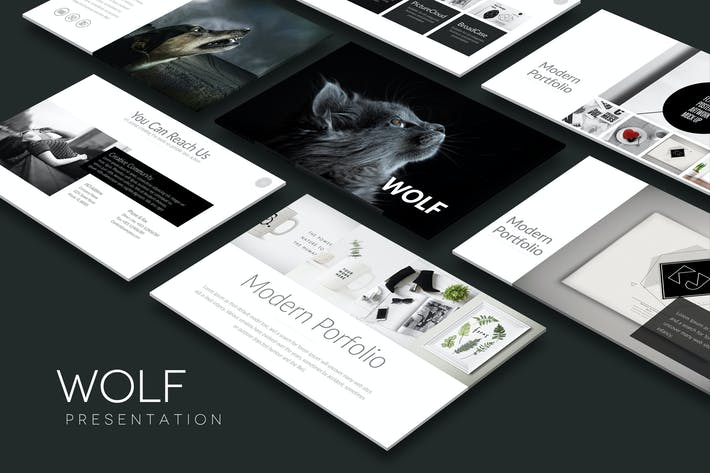 Thumbnail for WOLF Powerpoint Template