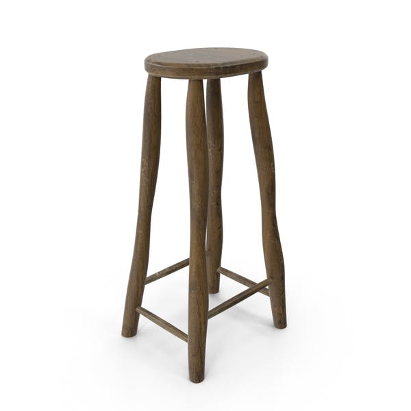 Cover Image for Rustic Stool