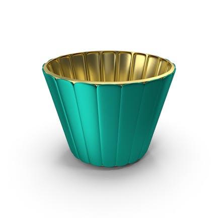 Bronze Metal Bowl Cup Pot