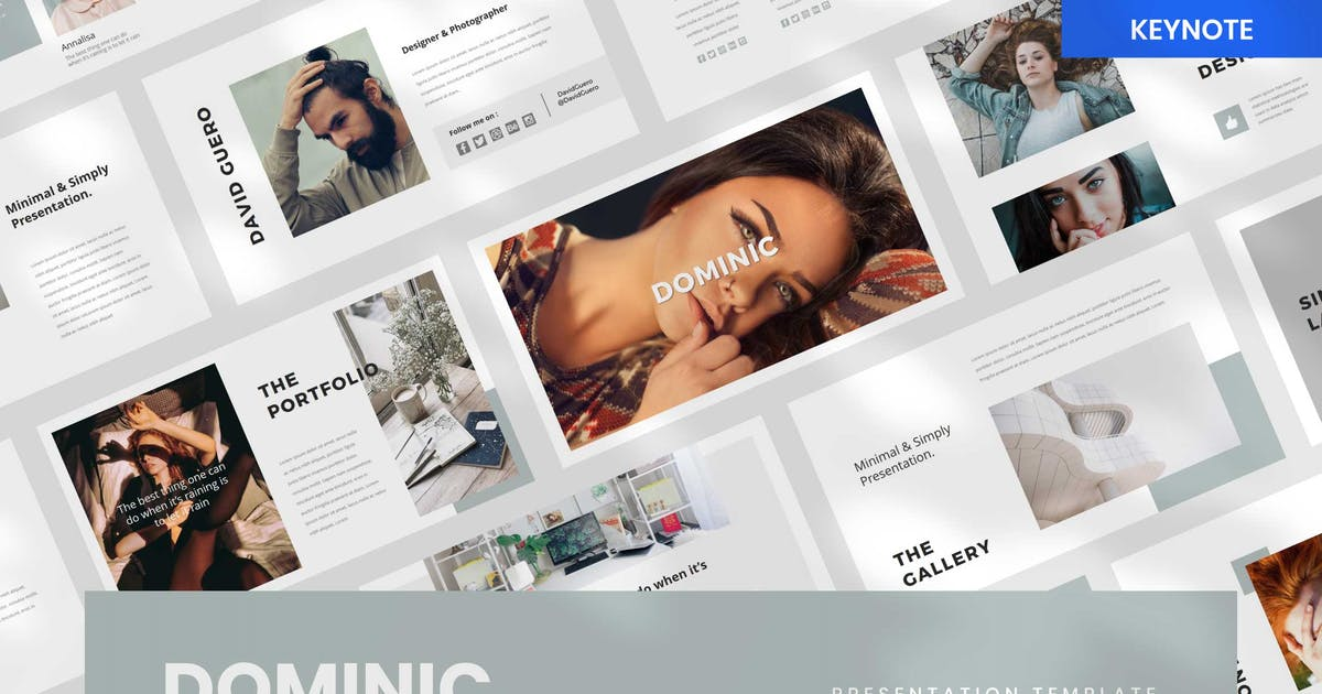 Download Dominic - Keynote by BringMeTheDesign