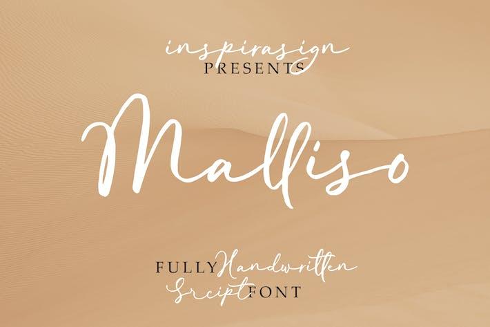 Thumbnail for Malliso - Fuente de escritura manuscrita