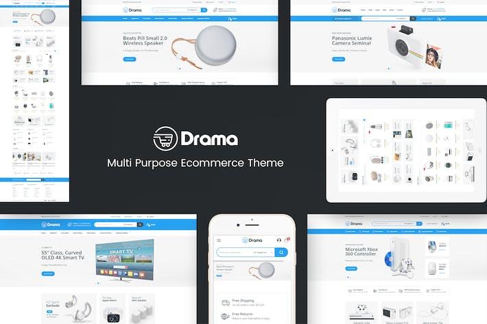 Drame - Thème OpenCart Responsive