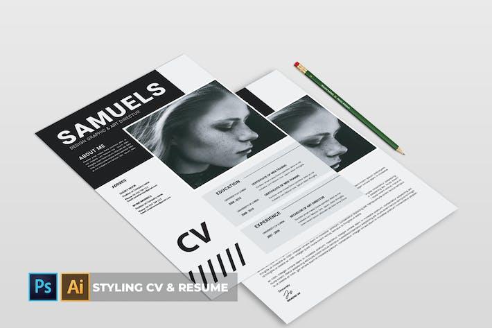 Thumbnail for Styling | CV & Resume