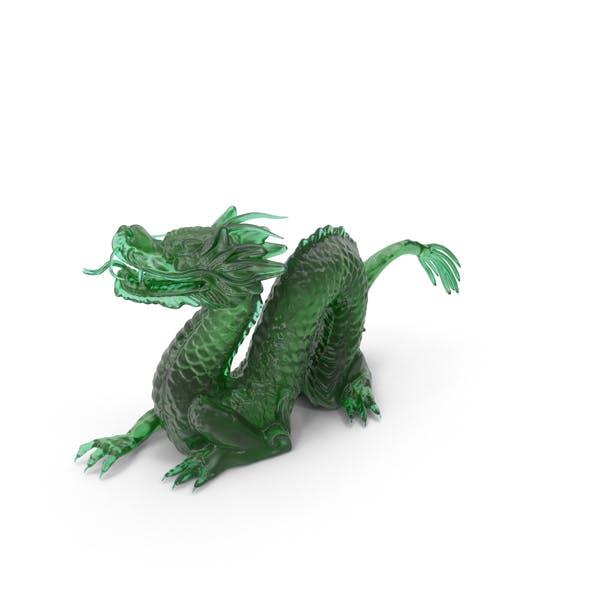 Thumbnail for Jade Dragon Statuette