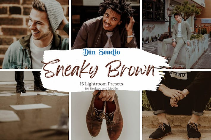 Sneaky Brown Lightroom Presets