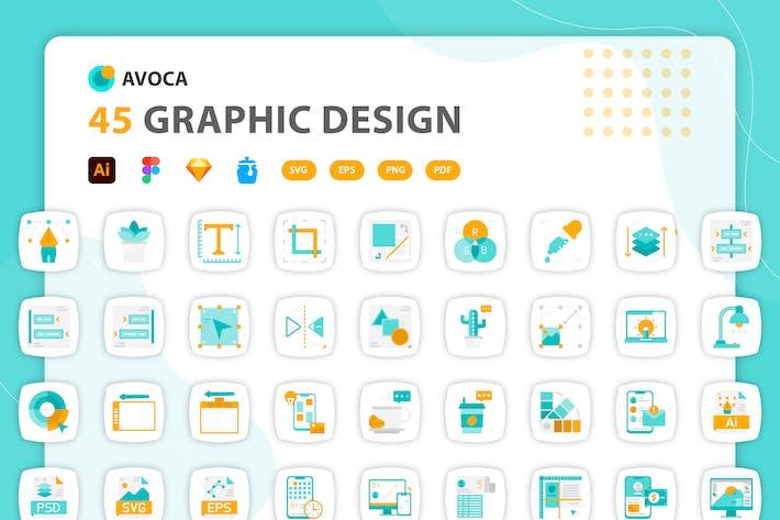 Avoca - Graphic Design Icons