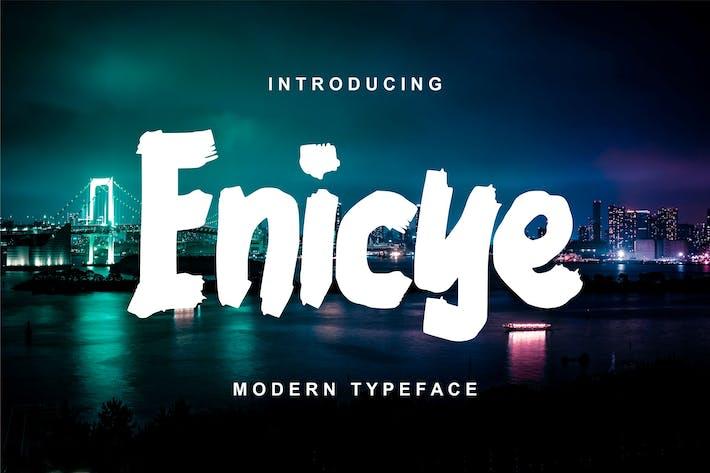 Thumbnail for Enicye | Modern Typeface Font