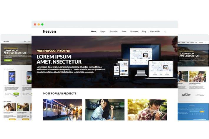 Heaven - Multi Purpose Site Template