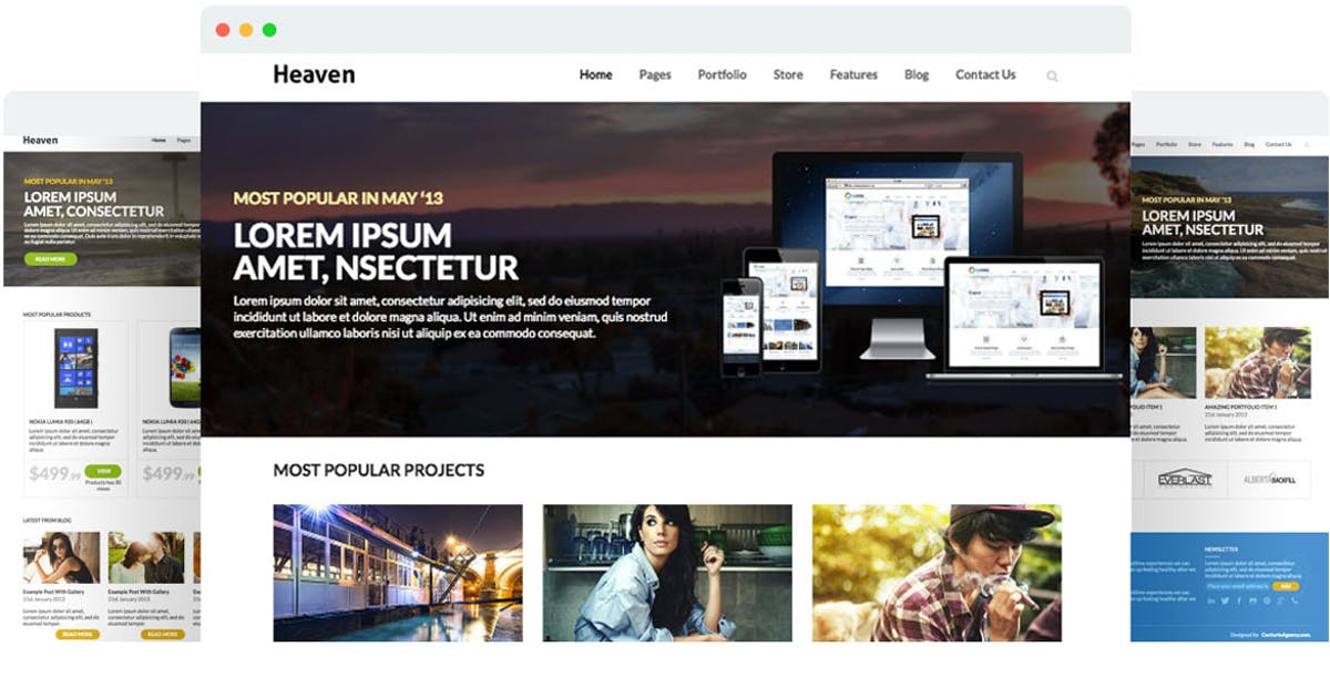 Download Heaven - Multi Purpose Site Template by SpyroPress