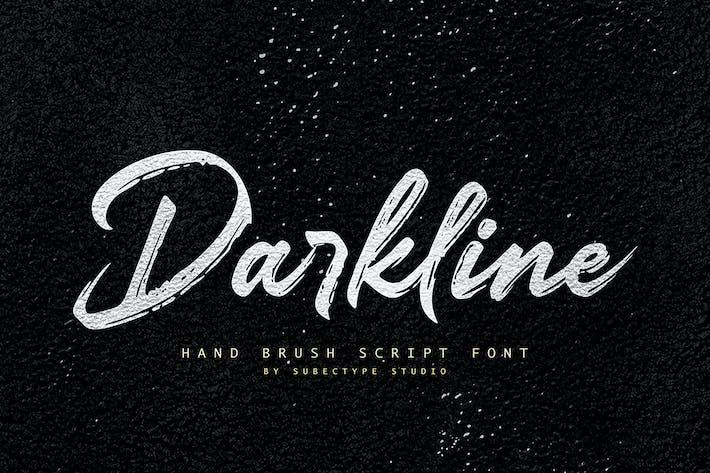 Línea oscura