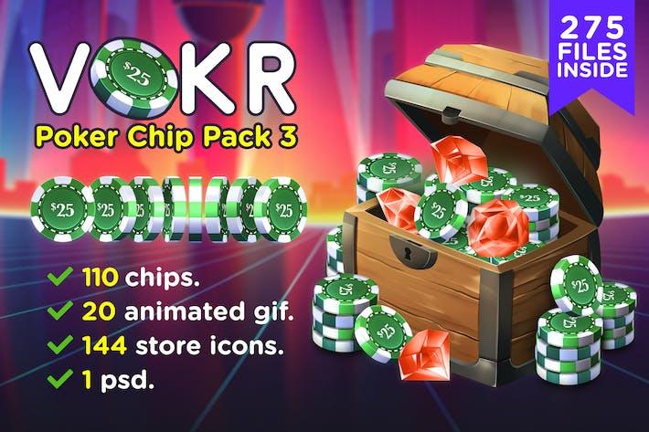 VOKR - Poker Chip Pack 3