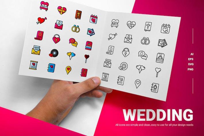 Wedding - Icons