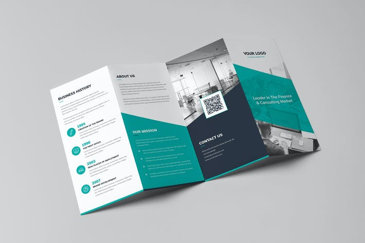 Thumbnail for Brochure – Corporate 4-Fold