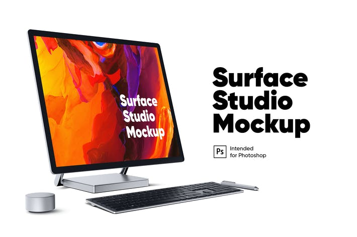 Thumbnail for Surface Studio Mockup