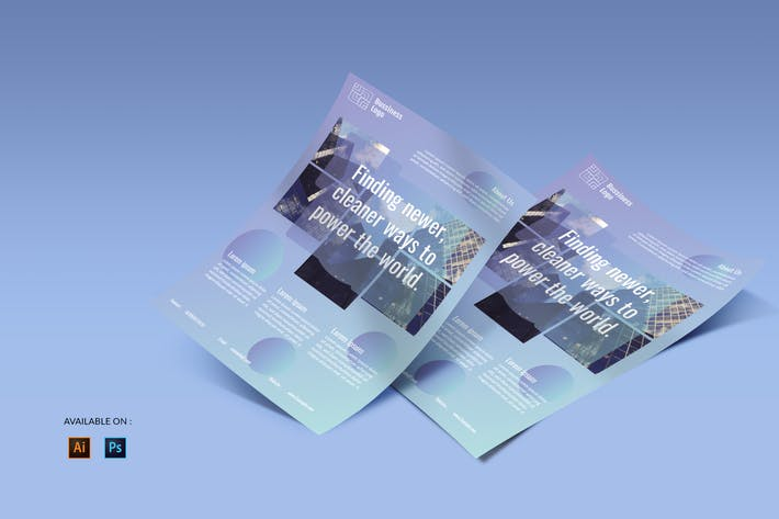 Thumbnail for Startup Business - Flyers Design