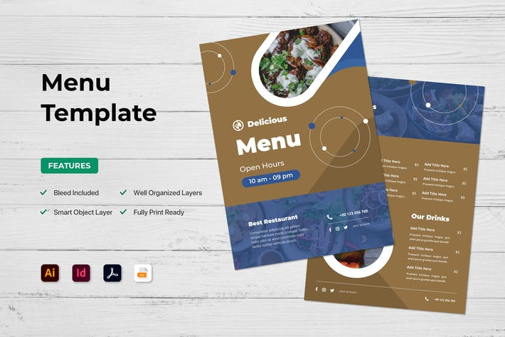 Thumbnail for Menu Restaurant