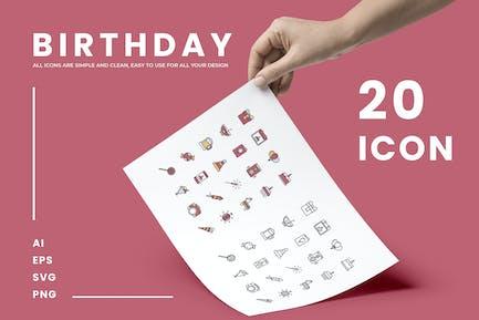 Birthday - Icons