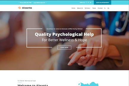 Aleanta - Psychologie WordPress Thema