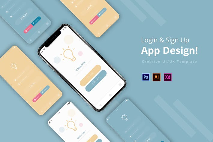 Thumbnail for Creativa Login App