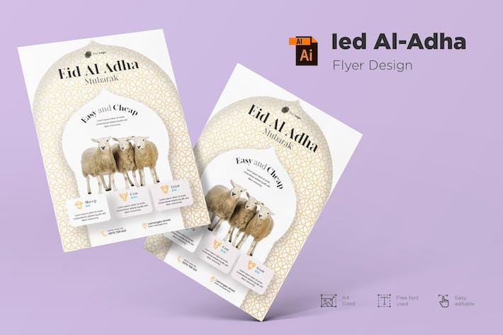 Thumbnail for Eid Mubarak Flyer Design Vol.01