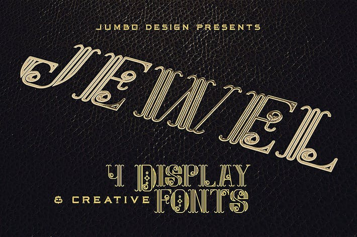 Thumbnail for Jewel - Display Font
