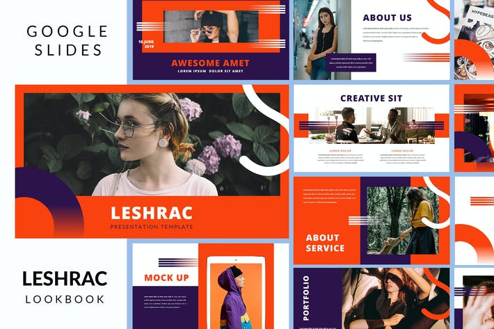 Thumbnail for Leshrac - Lookbook Google Slides