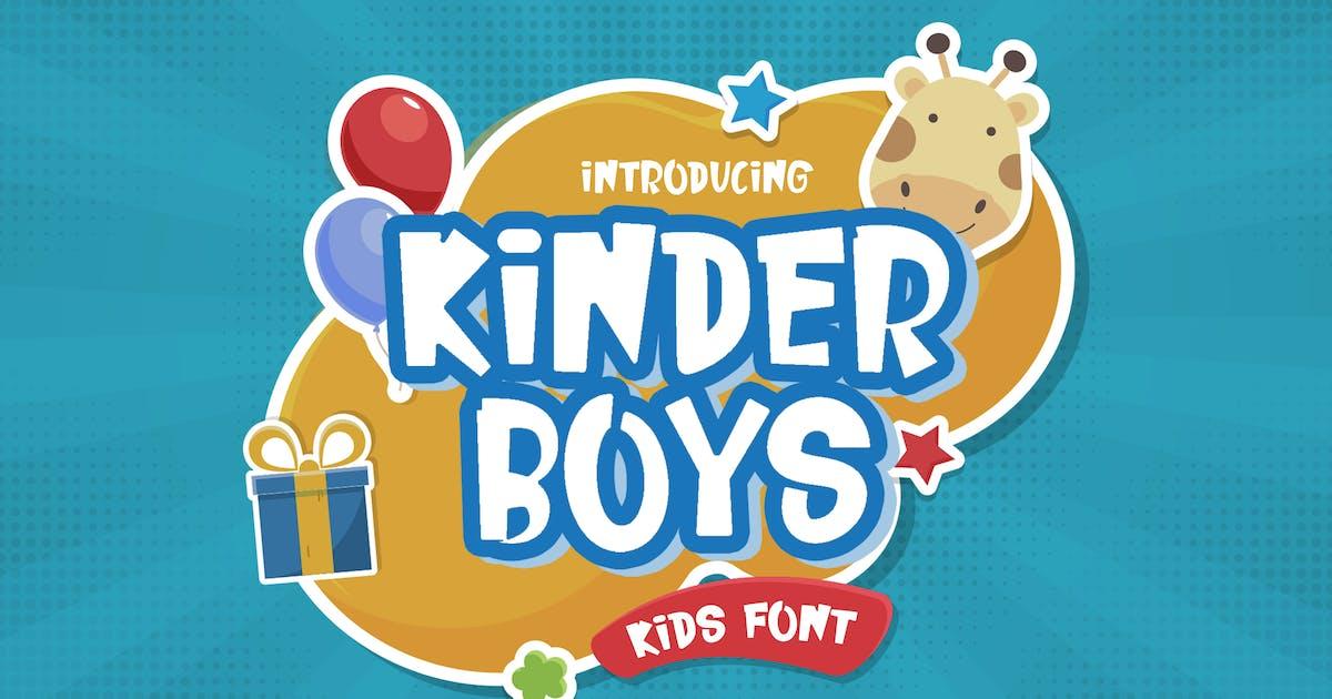 Download Kinder Boys - Playful Font by StringLabs