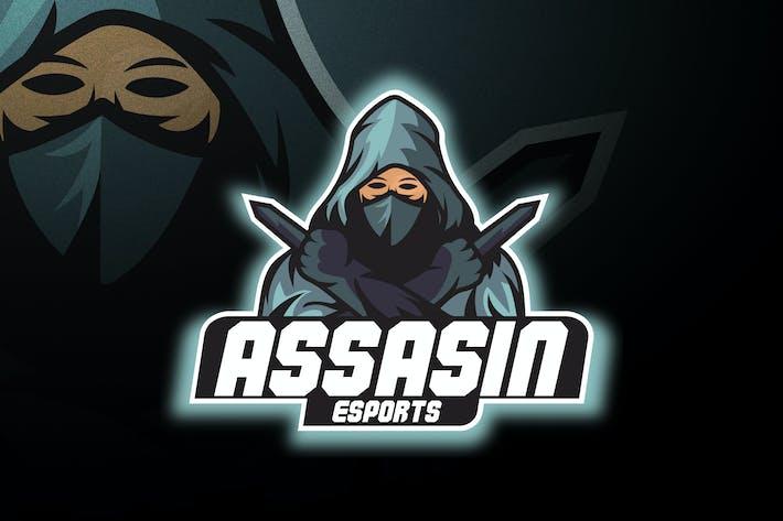 Thumbnail for Assasin Esports - Mascot & Esport Logo