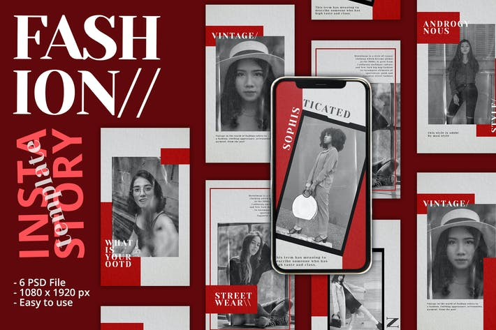 Thumbnail for Fashion Classic Instagram Story Template