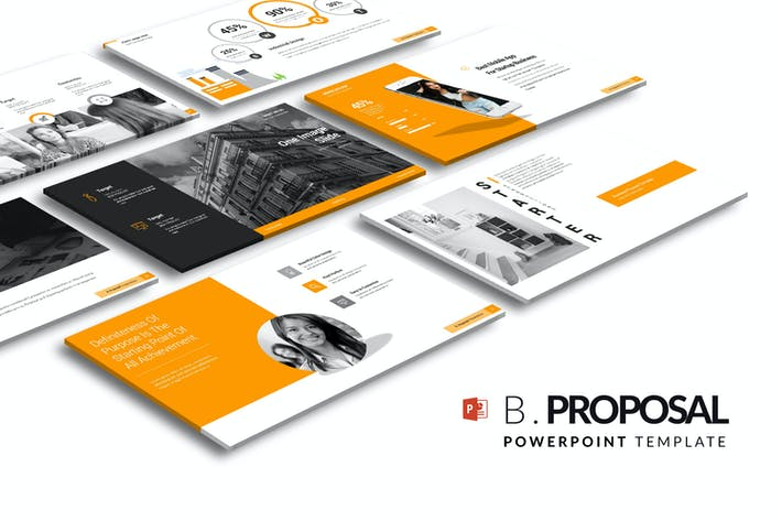 Cover Image For Business Proposal PowerPoint Template