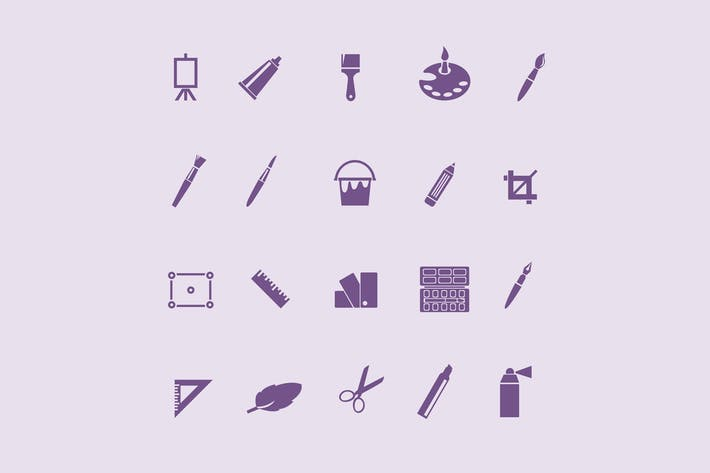 Thumbnail for 20 Art and Design Icons