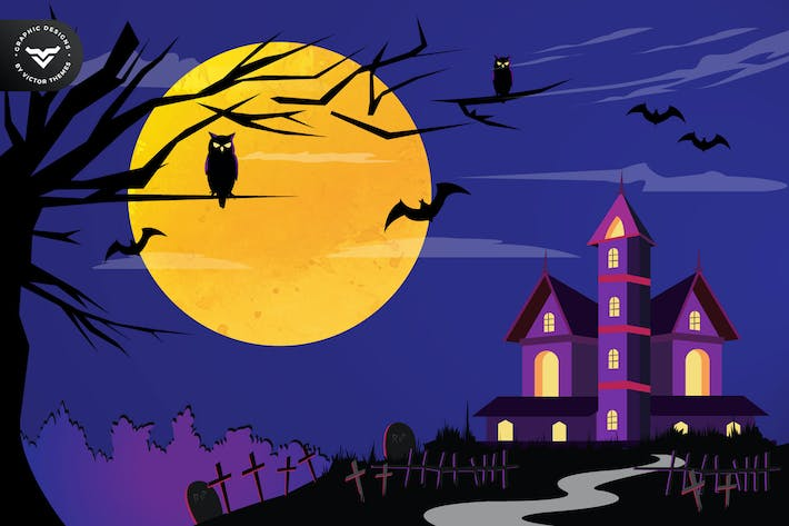Thumbnail for Halloween Party Graphics