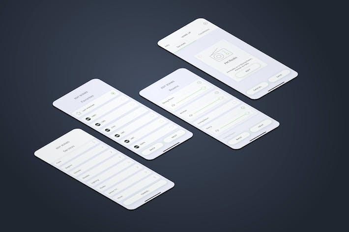 Thumbnail for Create Services Radio Smarthome Mobile UI - FP