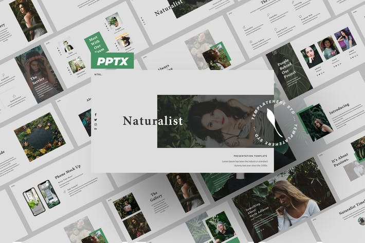Naturalist Creative Powerpoint