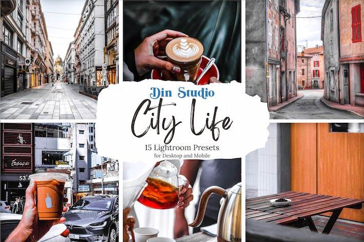Thumbnail for Ajustes preestablecidos de Lightroom de City Life