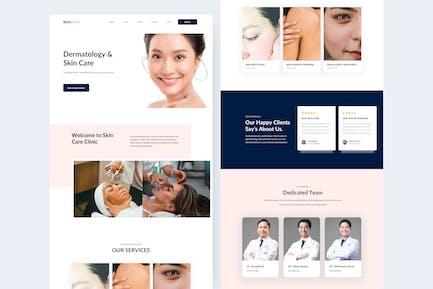 Dermatology Landing Page