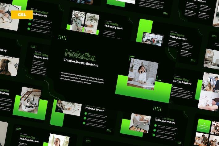 Thumbnail for Творческий стартап Hokaiba - Google Слайды