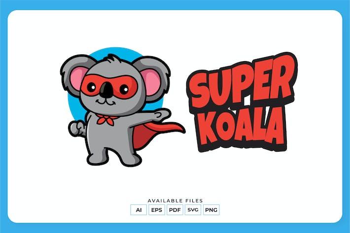 Super Koala Logo