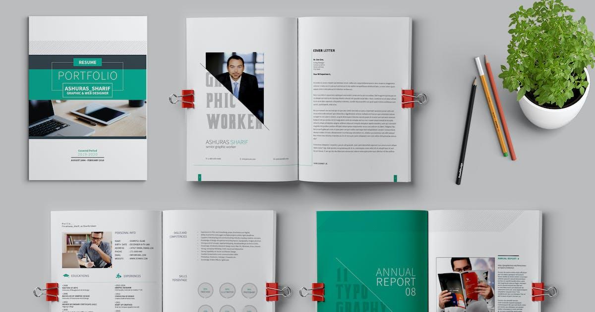 Resume Portfolio by ashuras_sharif on Envato Elements