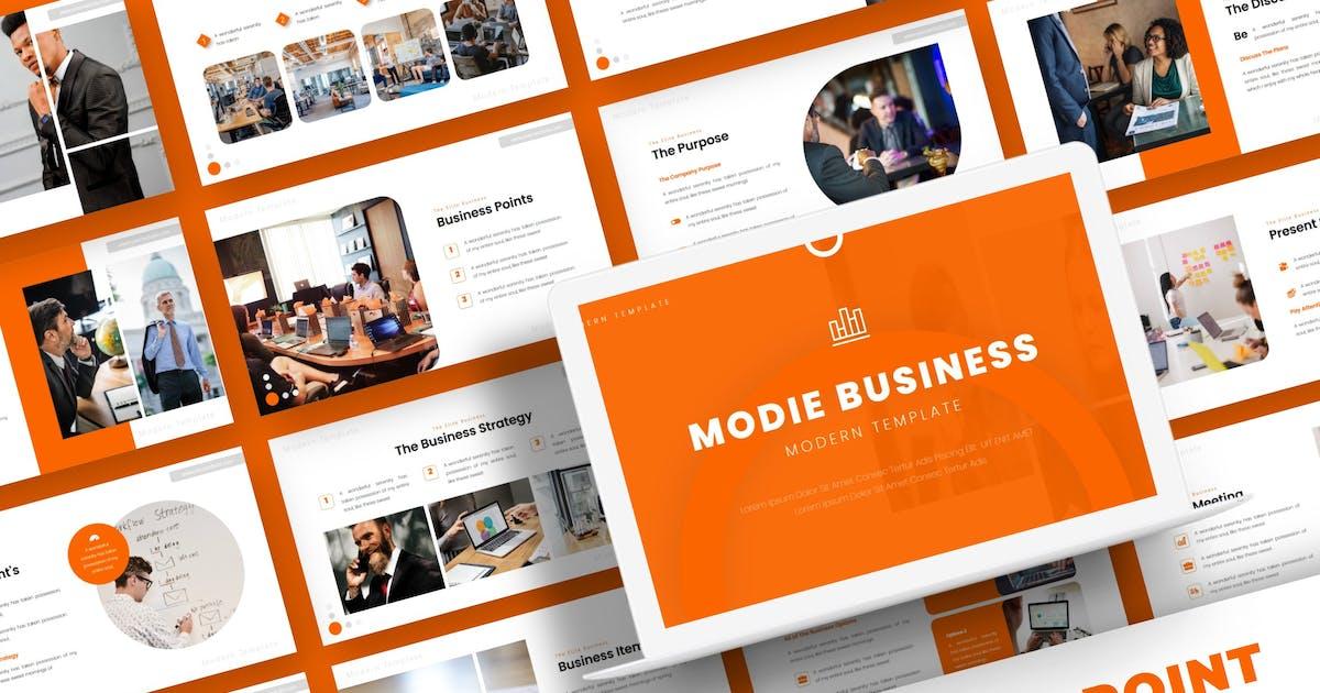 Download Modie Business - Powerpoint Template by karkunstudio