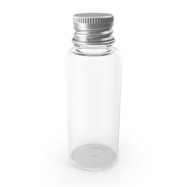 Botella PET de 30 ml con tapa