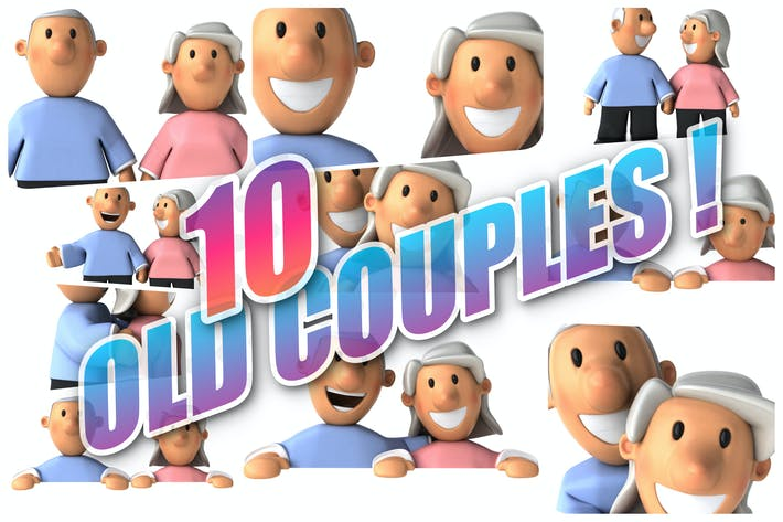 Thumbnail for 10 Old Couples !