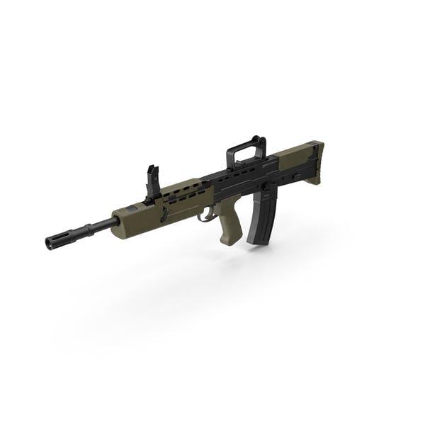 Rifle de asalto Bullpup L85A2