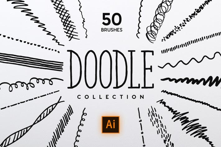 Thumbnail for Doodle Brush Collection