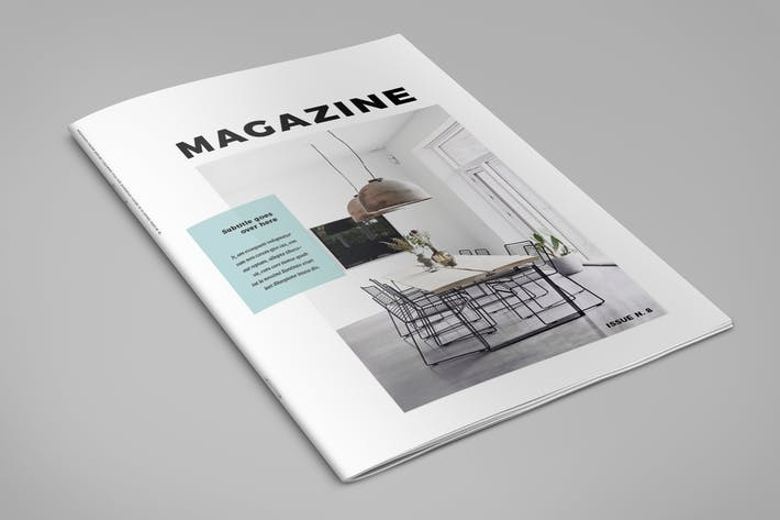 Cover Image For Minimal Interior Design Magazine