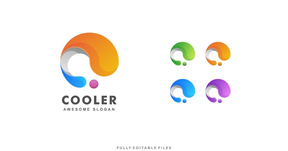 Download Abstract Letter Colorful Logo by ivan_artnivora
