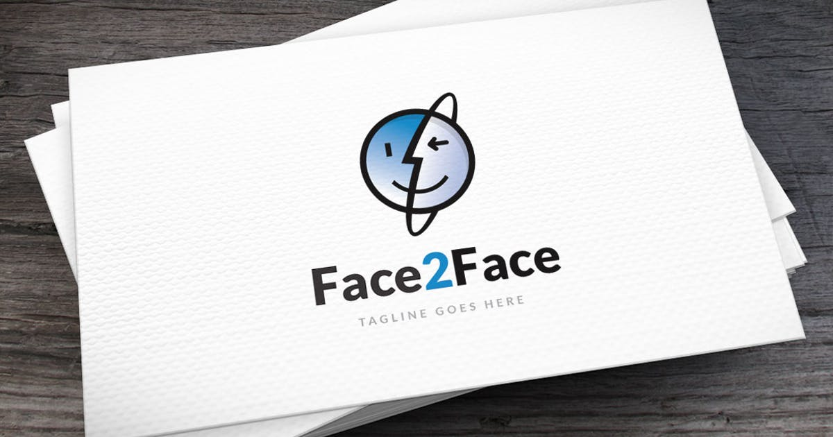 Download Face 2 Face Logo Template by empativo