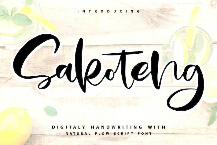 Thumbnail for Sakoteng   Fuente de escritura a mano